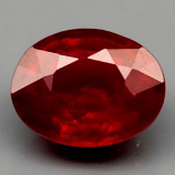 Genuine Ruby 2.44ct 9.0 x 6.9mm Oval SI Clarity