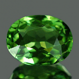 Genuine 100% Natural Green Tourmaline 1.14ct 7.5 x 5.9 x 3.7mm Nigeria IF