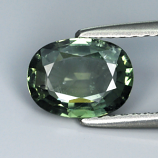 Genuine Green Sapphire 1.28ct 7.9 x 6.0mm SI
