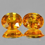 Genuine Yellow Sapphire .58ct 5.2 x 4.2mm Oval VS1 Clarity