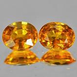 Genuine Yellow Sapphire .58ct 5.2 x 4.2mm Oval VS1 Clarity
