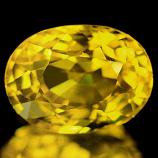 Genuine Yellow Sapphire 1.62ct 8.1 x 6.2mm Thailand SI
