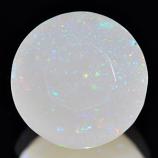 Genuine 100% Natural Multi Color Opal 1.47ct 8.7 x 8.7 x 5.0mm Sudan