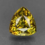 Genuine 100% Natural DEMANTOID GARNET 1.08ct 6.0 x 5.7 x 4.1mm Trillion