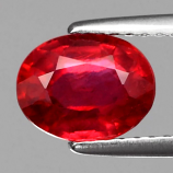 Genuine Ruby 1.93ct 8x6.2x4.2mm SI1 Mozambique