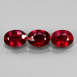 Genuine Ruby 1.03ct 6.9x5mm SI1 Mozambique