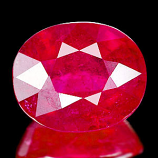 Genuine Ruby 8.23ct 12.5 x 10.2mm Mozambique VS1