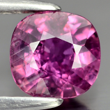 Genuine 100% Natural Violet Sapphire .94ct 6.0 x 5.7mm Cushion SI1 Clarity