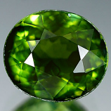 Genuine 100% Natural Green Tourmaline 1.68ct 8.4 x 7.3mm Oval VVS Clarity