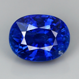 Genuine 100% Natural BLUE CEYLON SAPPHIRE 1.35ct 6.7 x 5.1mm Oval