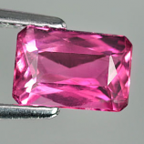 Genuine 100% Natural PINK TOURMALINE .97ct 7.0 x 4.9 x 3.3mm Octagon