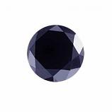 Genuine Midnight Blue Sapphire .46ct 6.0 x 6.0mm Round Opaque