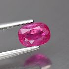 Genuine 100% Natural RUBY 1.04ct 6.3 x 4.5 x 3.4mm SI1 Oval