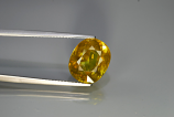 Genuine 100% Natural Sphene 6.38ct 12.5x10.5x6.2 SI1 Madagascar