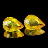 Genuine Yellow Sapphire .66ct 7.1 x 5.0 x 2.3mm Thailand SI