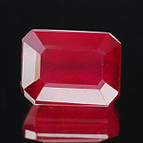 Genuine RUBY 2.81ct 8.5 x 6.5 x 4.4mm Octagon