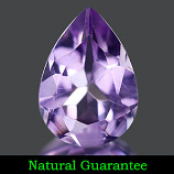 Genuine 100% Natural Amethyst 1.70ct 10.0 x 7.1mm VS1