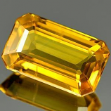 Genuine Yellow Sapphire 1.60ct 9.0 x 5.5mm SI
