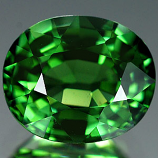 Genuine 100% Natural GREEN TOURMALINE 1.32ct 7.2 x 6.1 x 4.3mm Oval