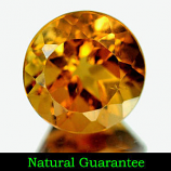 Genuine 100% Natural Champagne Topaz 2.60ct 8.2 x 8.2 x 5.8mm Brazil SI