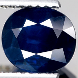 Genuine BLUE SAPPHIRE 1.98ct 7.8 x 6.9 x 4.3mm Oval