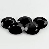 Genuine 100% Natural Black Spinel 2.02ct 9.1x7.2mm Opaque Thailand