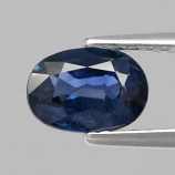 Genuine Blue Sapphire 0.93ct 7.0x5.0x2.8mm Oval SI1 Madagascar