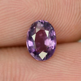 Genuine Purple Sapphire 1.05ct 7.0x5.0x3.1mm SI1 Madagascar