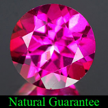 Genuine PINK TOPAZ 2.11ct 8.0 x 8.0 x 5.0mm Round