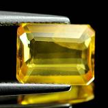 Genuine Yellow Sapphire 1.63ct 8.2 x 6.4 x 2.5mm Thailand VS1