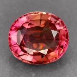 Genuine 100% Natural PINK TOURMALINE 1.45ct 7.6 x 6.6 x 4.2mm Oval