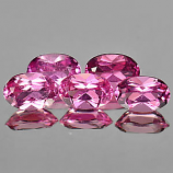 Genuine 100% Natural Pink Tourmaline 0.46ct 6.0x4.0x3.2 VS1 Nigeria