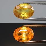 Genuine 100% Natural Sphene 2.26ct 9.8x7.3x4.1mm SI1 Madagascar