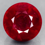 Genuine RUBY 2.57ct 7.5 x 7.5 x 5.1mm Round