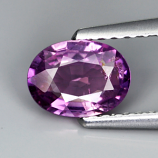 Genuine Purple Sapphire .83ct 6.7 x 4.2mm Madagascar SI