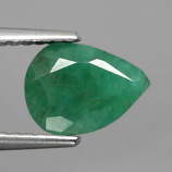 Genuine 100% Natural Emerald 1.62ct 8.7 x 6.5mm Pear SI2 Clarity