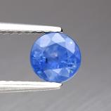 Genuine Blue Sapphire .96ct 5.5 x 5.5mm Round SI1 Ceylon