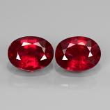 Genuine Ruby 1.63ct 7.8x6mm SI1 Madagascar