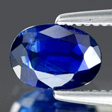 Genuine Blue Sapphire .69ct 6.5 x 4.5mm Oval SI1 Clarity
