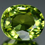 Genuine 100% Natural GREEN TOURMALINE 1.38ct 7.6 x 6.3 x 4.0mm Oval