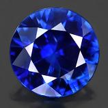 Genuine Set BLUE SAPPHIRES (18) 1.7 x 1.7 Round