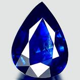 Genuine BLUE SAPPHIRE 1.34ct 8.5 x 6.4 x 3.1mm Pear