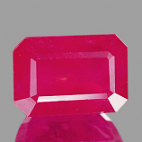 Genuine RUBY 3.25ct 9.0 x 6.2 x 5.2mm Octagon