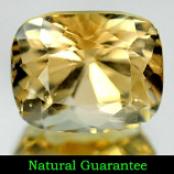 Genuine 100% Natural Champagne Topaz 7.09ct 11.7 x 9.5mm Octagon VS1 Clarity
