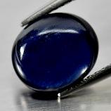 Genuine Cabochon Blue Sapphire 3.25ct 9.1x7.8x4.2mm opaque Madagascar