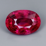 Genuine 100% Natural RUBY .73ct 6.1 x 4.4 x 3.0mm Oval