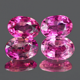 Genuine 100% Natural PINK TOURMALINE .44ct 5.9 x 4.1 x 2.2mm Oval