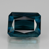 Genuine 100% Natural Blue Indicolite Tourmaline 1.09ct 6.2x4.7 SI1 Madagascar RARE