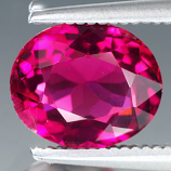 Genuine 100% Natural Pink Tourmaline 1.78ct 8.5 x 7.0mm Oval VS Clarity