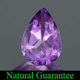 Genuine 100% Natural Amethyst 1.57ct 9.9 x 6.8mm VS1